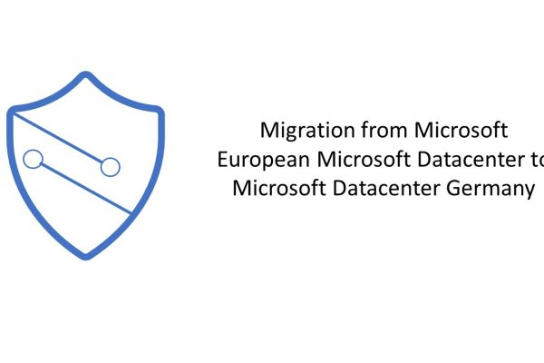 Migration to German data centers from European rights centers is now possible